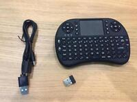 Wireless keyboard with touch pad