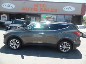 2013 Hyundai Santa Fe Sport Limited, LEATHER, PAN SUNROOF, NAV,