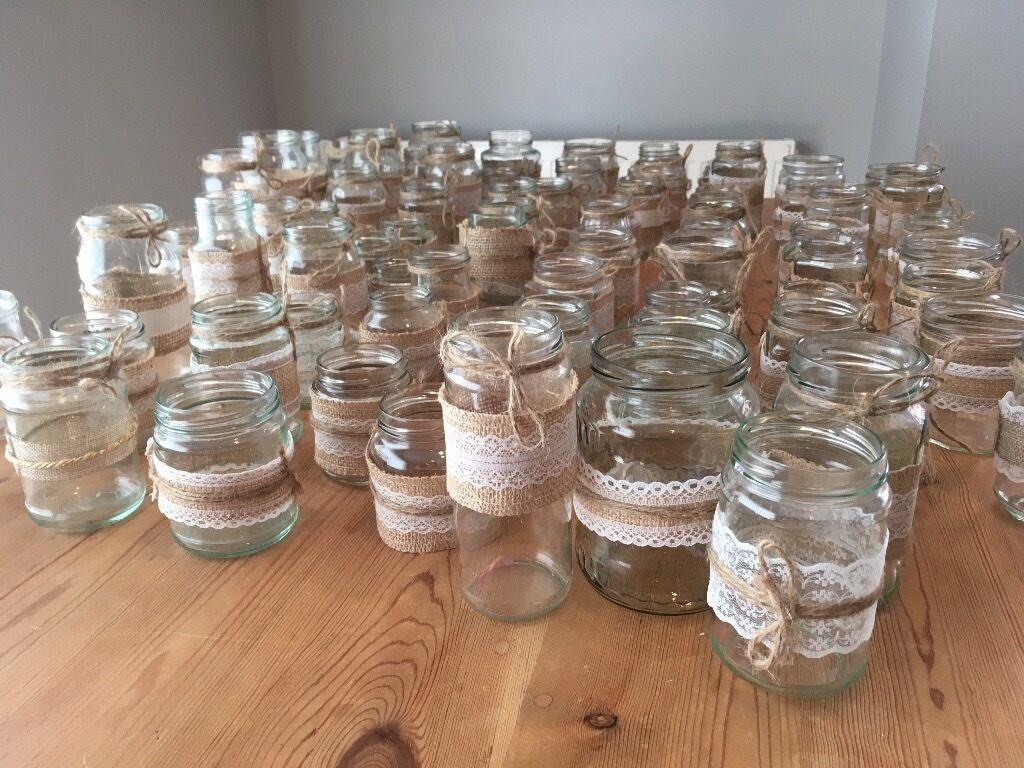Lace Jars Ladies Home Crafting