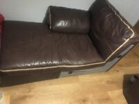 USED LEATHER SOFA AVAILABLE FOR PICKUP