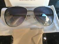 MICHAEL KORS Aviator Mens Womens Sunglasses M2064S Kendall Silver rrp £120
