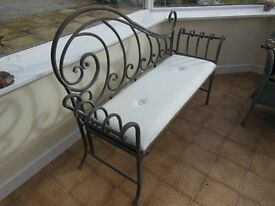 French Country Style Two Seater Bench