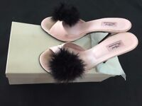 Pink fluffy heel shoes - Agent Provocateur