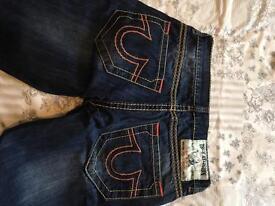 Men's true religion Paul shark jeans