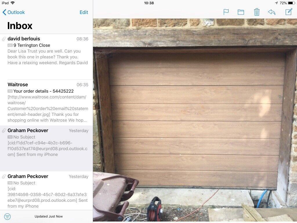 Hormann Promatic 2 Electric Garage Door 6 6 X8 1 Wide