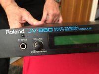 Synth module Roland JV880