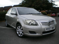 *** Toyota Avensis 2.0 D-4D T3-X 5dr * FULL 12 MONTHS MOT*3 MONTHS WARRANTY INCLUDED** BARGAIN***