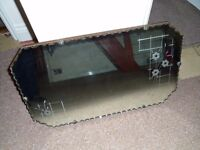 Vintage beveled 1930/40s style wall mirror