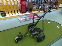 Powakaddy Robokaddy Electric Trolley - With Remote Control - Metallic Black