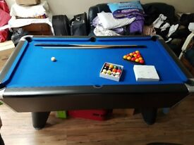 6 foot pool table for sale