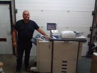 A3 A4 full colour MFD photocopier printer scanner 65cpm Toshiba E-studio 6520C, vgc, ex lease