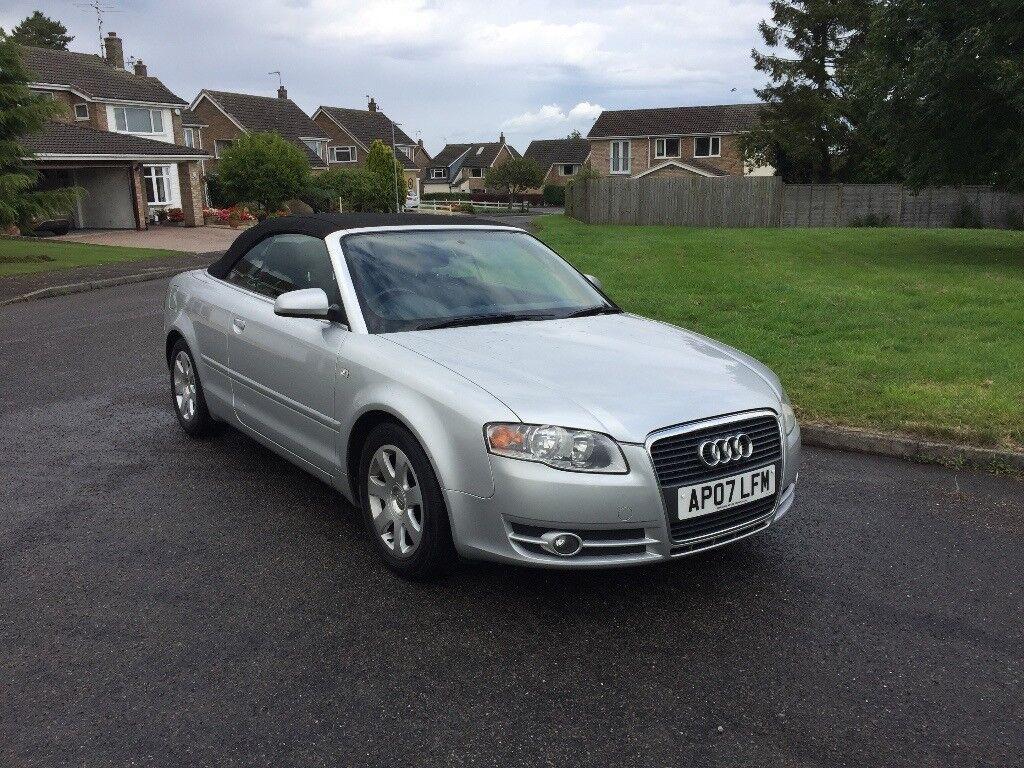 Audi A Convertible Silver T Long Mot Low Insurance Low Tax - Car insurance for audi a4