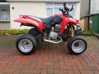 Fully road legal Quadzilla 250