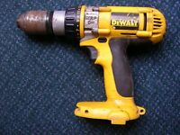 DeWalt 14.4 volt XRP professional drill, NO battery or Charger