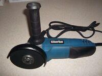 a small angle grinder (mains) 240v