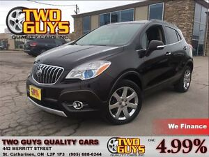 2014 Buick Encore Premium AWD NAVIGATION LEATHER SUN ROOF AWESOM