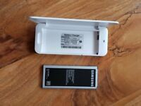 Samsung Note 4 Battery and Lemfo Battery Charger