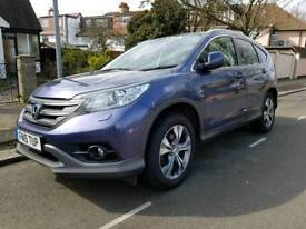 Honda CRV-EX 2015 Automatic, Panoramic roof, leather heated seats, Navigation DVD player ect