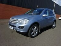 2006 MERCEDES ML 280 DIESEL AUTOMATIC,FULL MERCEDES DELLER SERVICE HISTORY,2 REMOTE KEYS,HPI CLEAR