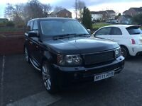 Range Rover sport hse in great condition and low miles for its year