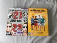 21&22 jump street inbetweeners 1&2