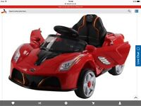 New in box Electric ride on sports car