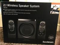 New Wireless Speaker Set £150 O.N.O