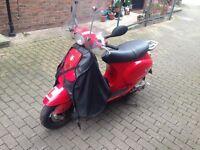2003 Piaggio Vespa 125cc (Good working bike)