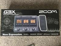 Fx Pedal. Zoom G3X