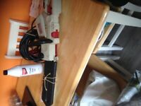 Electric chainsaw like new come with full 1 litre chain oil bargaini