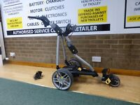 Powakaddy Golf FW7s Electric Trolley - 36 Hole XL Lithium Battery