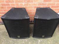 AC Euro Disco Speakers 350W each