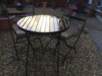 Lovely Cast Iron Bistro Set