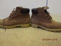 Size 6 Waterproof, Tan Timberland Boots