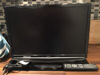 """Bush 22"""" TV in excellent condition with remote and power cable"""