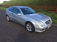 2007 MERCEDES C180 1.8 * AUTOMATIC * FULL YEARS M.O.T * GENUINE 74.000 MILES *