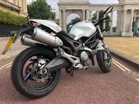 Ducati Monster 2009 696+ White