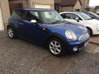mini one 1397cc automaic 07 plate newshape 1795 no offers swap for van or motormome