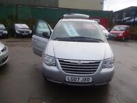 Chrysler GRAND VOYAGER LTD XS Auto,7 seat MPV,full leather interior,Sat Nav,tow bar fitted,LG07JXO