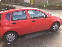 DAEWOO KALOS 1.4 SE 2003 MANUAL IN RED 82K LOW MILES