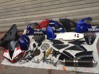 Yamaha R1 parts