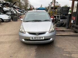 2003 Honda Jazz SE 5dr 1.3 Petrol Silver BREAKING FOR SPARES