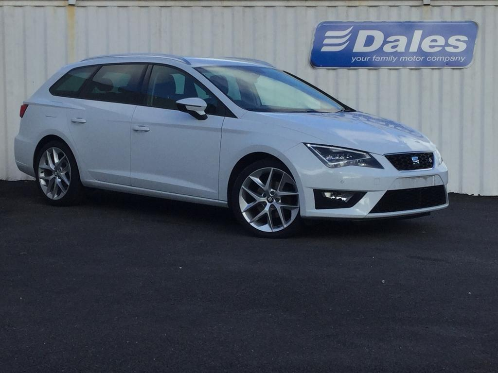 seat leon 2 0 tdi fr 5dr technology pack nevada white 2014 in redruth cornwall gumtree. Black Bedroom Furniture Sets. Home Design Ideas