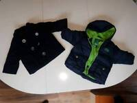 3 to 6 months old baby boys coats