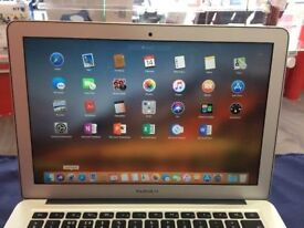 MACBOOK AIR 13INCH 1.3GHZ i5 4GB RAM 128SSD [2013] collection from shop L865