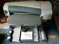 Hewlett Packard HP DesignJet 110 Plus - large format printer/plotter (prints up to A1 size)