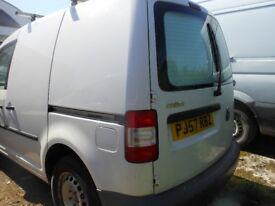 VW Caddy 6SPS SDi Panel Van, 1.9 Diesel, 1 Former Keeper, 119,000 miles