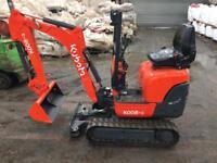 Kubota mini excavator K008-3