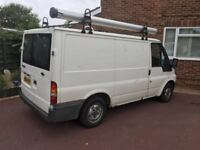 Transit roof bars and pipe carrier
