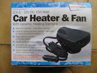 Car Heater & Fan